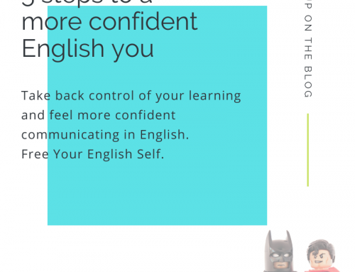 5 steps to a more confident English you