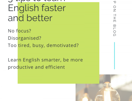 3 tips to learn English faster and better
